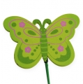 Schmetterling am Stab 4,5cm 24St